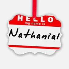 Nathanial Ornament