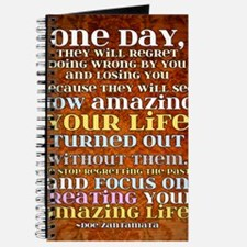 one day poster Journal