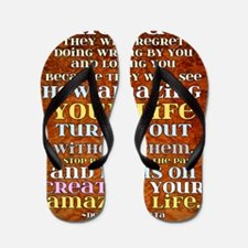 one day poster Flip Flops