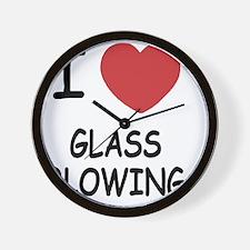 GLASS_BLOWING222 Wall Clock