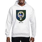 Barclay Clan Crest Tartan Hooded Sweatshirt