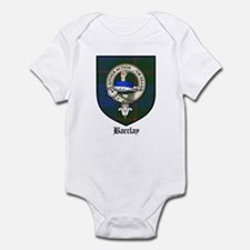 Barclay Clan Crest Tartan Infant Bodysuit