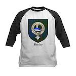 Barclay Clan Crest Tartan Kids Baseball Jersey