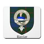 Barclay Clan Crest Tartan Mousepad