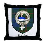 Barclay Clan Crest Tartan Throw Pillow