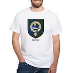 Barclay Clan Crest Tartan White T-Shirt