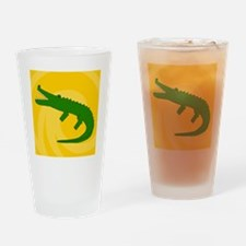 Alligator-Shower Drinking Glass