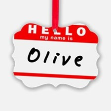Olive Ornament