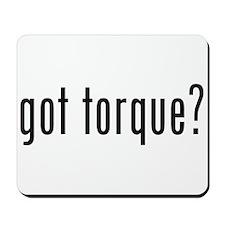 got torque? Mousepad