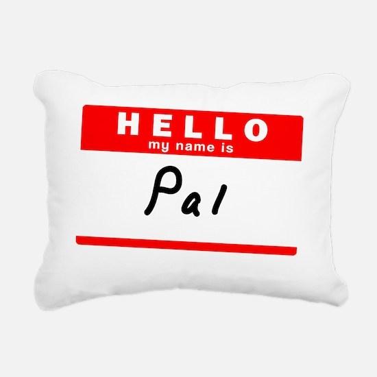 Pal Rectangular Canvas Pillow