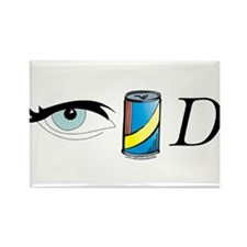Eye Candy I Rectangle Magnet (10 pack)