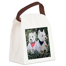 Fancy and Grumpy Canvas Lunch Bag