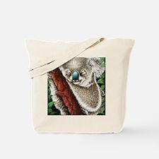 Koala Sleeping (mousepad) Tote Bag