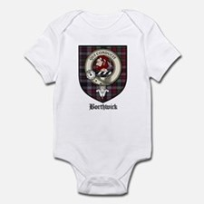 Borthwick Clan Crest Tartan Infant Bodysuit