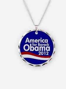 Obama 2012 Necklace