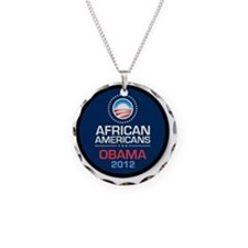 African Americans for Obama Necklace