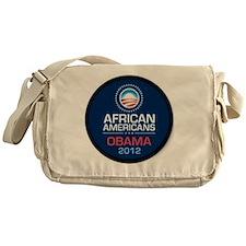 African Americans for Obama Messenger Bag