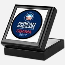 African Americans for Obama Keepsake Box