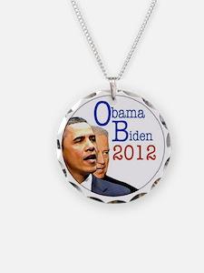 obama biden Necklace