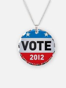Vote 2012 Necklace