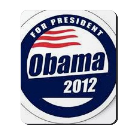 Vote for obama Mousepad