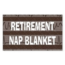 MEDICAL NAP BLANKET BROWN Decal