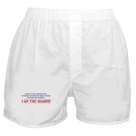 I Am The Guard! Boxer Shorts