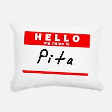 Pita Rectangular Canvas Pillow
