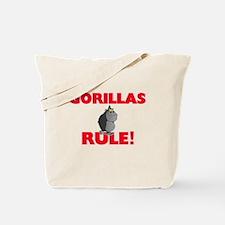 Gorillas Rule! Tote Bag