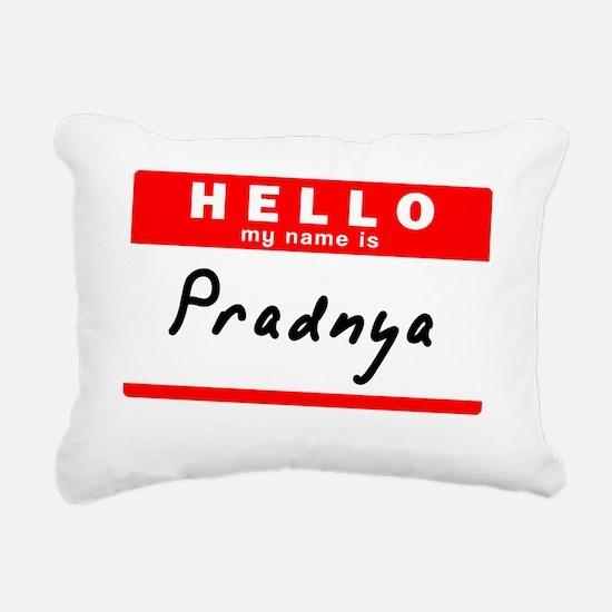 Pradnya Rectangular Canvas Pillow