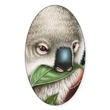 Koala Munching (iphone case 1) Stickers