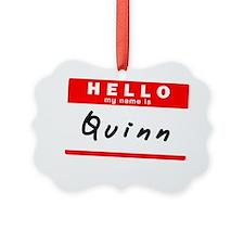 Quinn Ornament