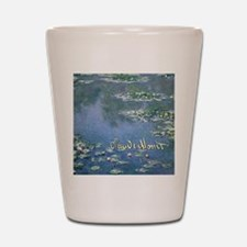 MonetWaterLillies7100 Shot Glass