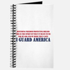 I Guard America Journal