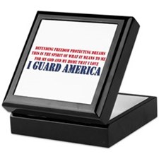 I Guard America Keepsake Box
