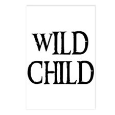WILD CHILD Postcards (Package of 8)