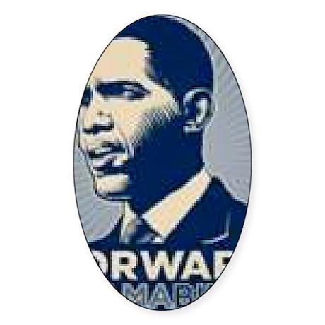 Obama Forward Sticker (Oval)