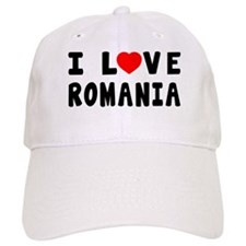 I Love Romania Baseball Cap
