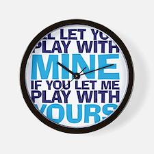playmine copy Wall Clock