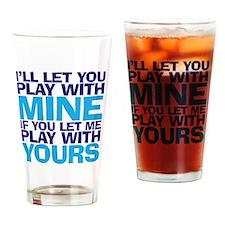 playmine copy Drinking Glass