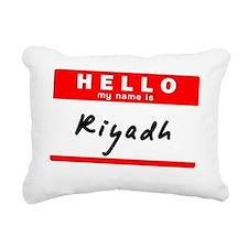 Riyadh Rectangular Canvas Pillow