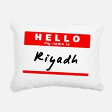 Riyadh Rectangular Canvas Pillow