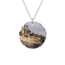 iwo jima lhd framed panel pr Necklace