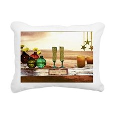 enjoy together Rectangular Canvas Pillow