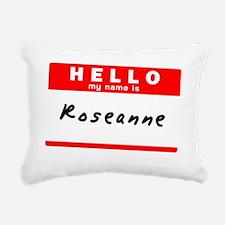 Roseanne Rectangular Canvas Pillow