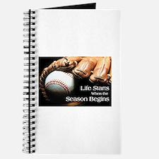 Life Starts when the Season Begins Journal