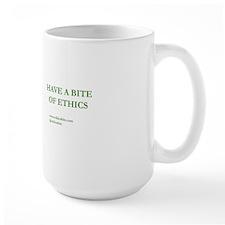 Green Have A Bite Of Ethics Mug