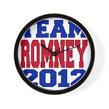team romney Wall Clock