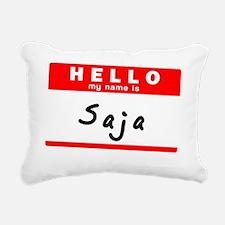Saja Rectangular Canvas Pillow
