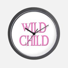 WILD CHILD Wall Clock
